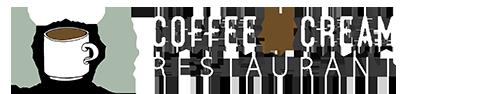 Coffee and Cream Restaurant Logo